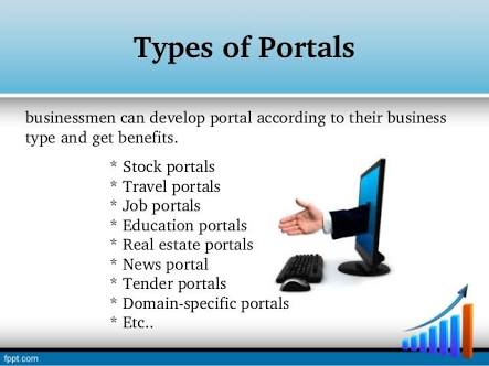 Types of web portals and its use – Mad Bug Digital Marketing